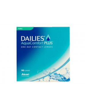DAILIES AQUACOMFORT PLUS TORIC 90 PACK (FOR ASTIGMATISM)
