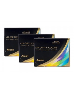 AIR OPTIX COLORS RAINBOW PACK MIX & MATCH THREE 2-PACKS!